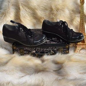 DANSKO Black Vegan Fabric Sneaker Comfort shoes 10